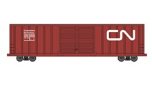 HIGH-CUBE DOUBLE-DOOR BOXCAR