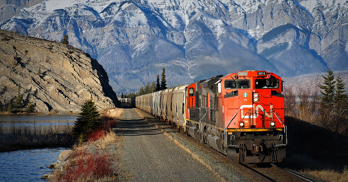 cn transportation services rail shipping intermodal trucking