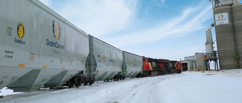 Extreme weather impact on grain supply chain